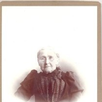 Image of Betsey Harder Tubbs (Mrs. Frederick Tubbs) - Clergy