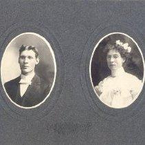 Image of Rev. Nathaniel Ingrams Vernon and wife Rebecca Scott Vernon - Clergy