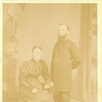Image of Rev. and Mrs A. G. Sahr - Clergy