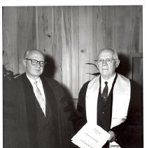 Image of Bishop Nall and Bishop Voigt 1960 - 1A Bishop's Office