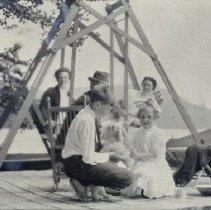 Image of Pleasant Pond ca. 1910 - 2011.23.1