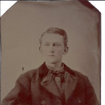 Image of Carroll/Carl Everett Colby - Tintype