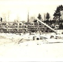 Image of Log crib works