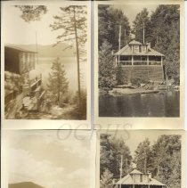 Image of Hilton Cottage, Pleasant Pond Maine - Eight Views - 2011.27.5