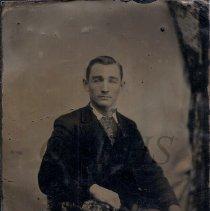 Image of Tintype of Ralph Leon Smith - 2011.28.17