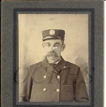 Image of Portrait photograph of Fred Smith in Uniform - 2011.28.19