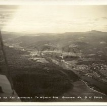 Image of Aerial View of Bingham and Moscow, Maine 1929 - 2011.9.5
