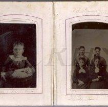 Image of Florence Milliken / Lila Plummer, Mae Goodrich, Dora Goodrich, Sae Goodrich
