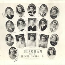Image of Bingham High School Class of 1947 - 2014.14.1