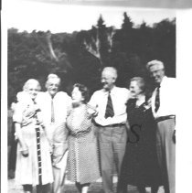 Image of Group Photo Including Ralph and Elmer Sterling - 2001.1.28