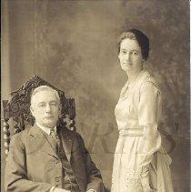 Image of John J. Lander and Frances H. Sterling - 1918