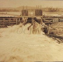 Image of Outlet Dam at Lake Moxie - 2001.1.30