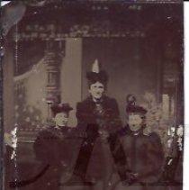 Image of Houghton Family - Women in Fancy Dress
