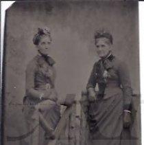 Image of Two Older Ladies in Fancy Dress - 2010.2.19