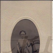 Image of Althea Houghton as a Young Girl - Tintype - 2010.2.22