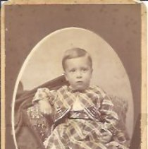 Image of Harry Brown as a Young Boy