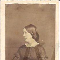 Image of Unidentified Woman - Houghton Family Album - 2010.2.58
