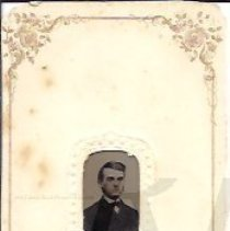 Image of Sanford Smith as a Young Man - Tintype - 2010.3.20