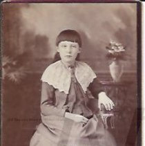 Image of Florence Milliken as a Young Girl