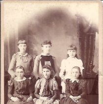 Image of Group of Young Girls from Bingham ME - 2010.3.33