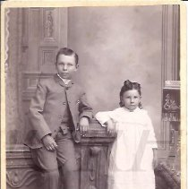Image of Two Children - Goodrich Family - 2010.3.34