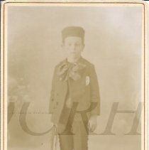 Image of Ralph Goodrich as a Young Boy - 2010.3.56
