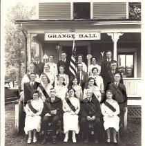 Image of Grange Officers, Bingham, ME  - 2010.3.79