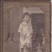 Image of Sidney J. Goodrich as a Young Boy - 2010.3.90
