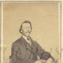 Image of Portrait Photograph of Charles Hill