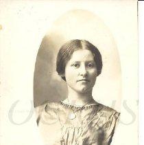 Image of Inez Thompson Robinson, Photo Postcard - 2011.10.25