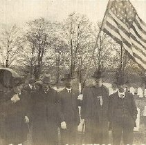 Image of GAR Veterans Gather at Bingham Village Cemetery - 2011.10.35