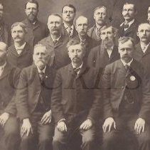 Image of Group of Men, Somerset County, ME - 2011.10.50
