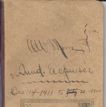 Image of E.W. Moore Sundry Expense Records, 1911-1920
