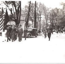 Image of Memorial Day Parade 1948, Bingham, Maine - 2011.7.7