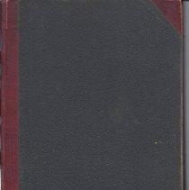 Image of Pleasant Ridge Treasurer's Book 1900-1906 Cover
