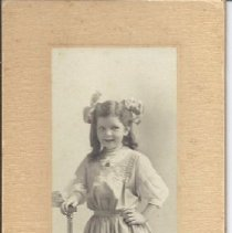 Image of Hilda Alzeda Rowe, Age 7, Smiling - 2012.13.16