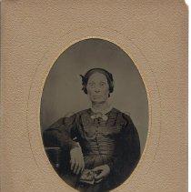 Image of Elizabeth Baker Goodrich, Tintype Portrait - 2012.13.30