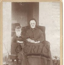 Image of Mary Pickard Goodrich Wilson and Minnie Jean Powers