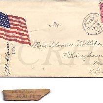 Image of Letter from W.B. Pierce, Havana Cuba, 1899