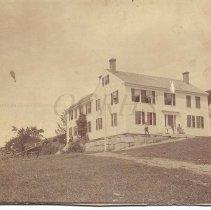 Image of Clark's Hotel, Caratunk ME ca 1885 - 2013.7.12
