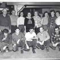 Image of Quimby Mill Crew - Bingham, Maine