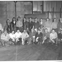 Image of Male Crew at Quimby Veneer Mill, Bingham, Maine - 2015.1.2