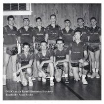 Image of Bingham High School Boys Basketball Team ca. 1958