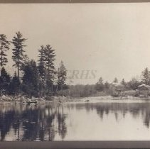 Image of View of Jones Camps at Moxie - 2001.1.49