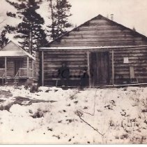 Image of Cabins at Jones Camps, Moxie ME - 2001.1.51