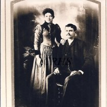 Image of Mr. and Mrs. Charles Cates - 2001.1.57