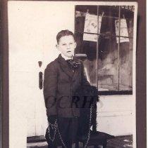 Image of Evan Hall as a Boy - 2001.1.63