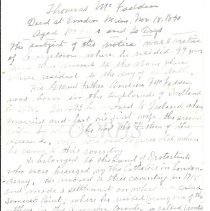 Image of Lucinda Arthur Letter Page 5