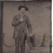 Image of Unidentified Man - Tintype - 2009.6.1