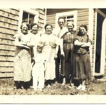Image of Laweryson, Merrill, Arno Family Members - 2009.6.10